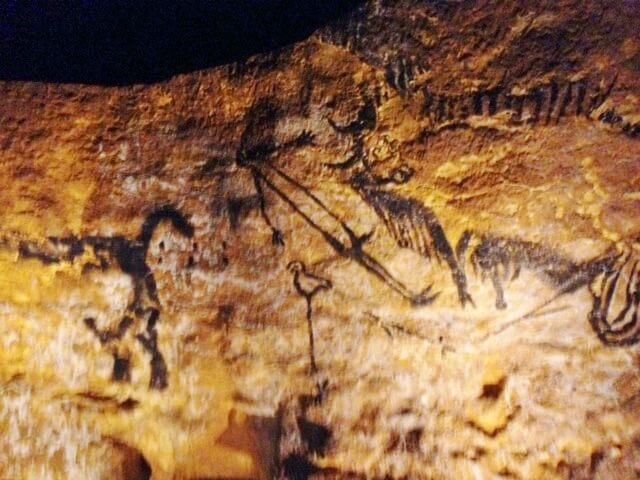 ラスコー壁画鳥人間